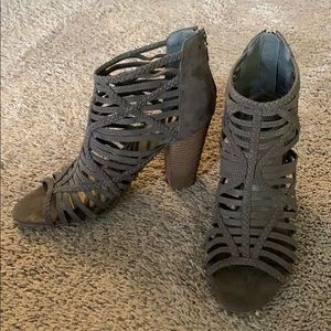 G By Guess Strappy Ankle Boot Size 11M